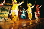 Bhangra, a popular punjabi folk dance. It is getting very popular even in west.